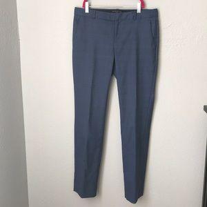Banana Republic slacks in blue plaid size 2
